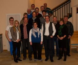 Gruppenfoto nach der Nominierungsversammlung